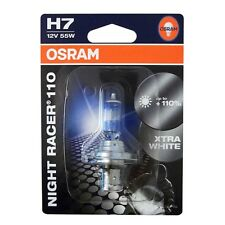 OSRAM H7 Night Racer Plus New 55 Watt 12 Volt Motorrad 55W PX26d 64210NR1