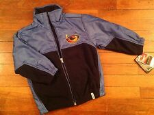 NWT Reebok Atlanta Thrashers Boy Girl Jacket Coat Size 4 Blue Retail $50