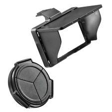JJC LX5KIT Displayschutzdeckel/Objektivdeckel Set für Panasonic Lumix LX-5