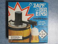 Zapfanlage für Bierfass Werbeartikel EKU Pils Werbung 80er Jahre neuwertig