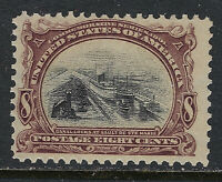SCOTT 298 1901 8 CENT PAN AMERICAN EXPOSITION ISSUE MNH OG F-VF CAT $150!