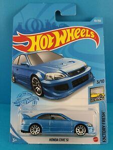 2020 Mattel Hot Wheels 3/10 FACTORY FRESH HONDA CIVIC Si #63/250