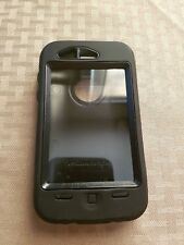 New OtterBox Case for Apple iPhone 3 - Black - COMPLETE SET WITH HOLSTER CLIP