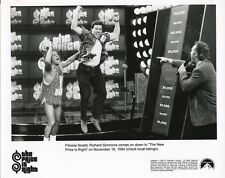 RICHARD SIMMONS CONTESTANT THE NEW PRICE IS RIGHT ORIGINAL 1994 TV PRESS PHOTO