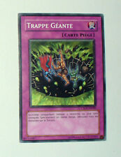 CARTE YU GI OH VERSION FRANCAISE TRAPPE GEANTE CSOC-FR080