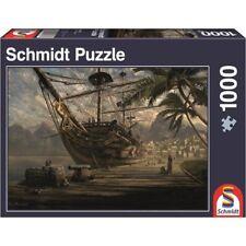Schmidt Jigsaw - Ship at Anchor by Sarel Theron- (1000 pieces)