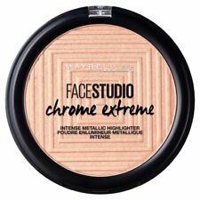 MAYBELLINE FACE STUDIO CHROME EXTREME HIGHLIGHTER 350 MOLTEN ROSE GOLD  *new*