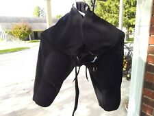 Adams Youth Large Padded Black Football Pants