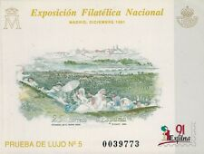 ESPAÑA 1991. PRUEBA OFICIAL 24. EXFILNA 1991 MADRID