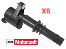 8  Ignition Coils Genuine FORD MOTORCRAFT 4.6L 5.4L 6.8L V8 V10 Lincoln Mercury