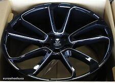 "22"" Kronos KW10 Gloss Black Wheels For BMW E53 X5 22x10.5 5x120 +40 Rims Set (4)"