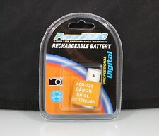 184412 RECHARGEABLE NB-9L REPLACEMENT BATTERY FOR CANON NEW