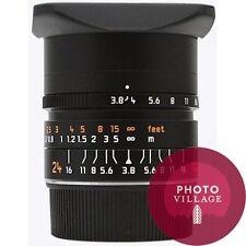 Leica M 24mm f/3.8 Elmar ASPH 35mm Rangefinder Lens -- CERTIFIED PRE-OWNED