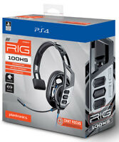 Plantronics Headphones Rig 100HS Gaming Headset PS4 PLAYSTATION 4 Plantronics