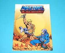 MOTU HE-MAN MASTERS OF THE UNIVERSE CATALOG '86 MAGAZINE DUTCH Nr 1/1986 MATTEL