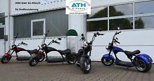 Elektroroller Elektro Scooter E-Chopper 2000W 45km/h Straßenzulassung E Bike ToP