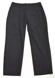 The Limited Black Collection Men Flat Front Straight Leg Drew Fit Slack Pants 2