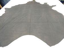 Cuero De Búfalo antiguo vintage marrón Tapicería 1 Piel aprox. 4 hasta 4,5 QM