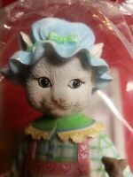 """Lenox """"A Treat for Two"""" Cat & Mouse Pencil Sculpture Porcelain~Hand-Painted~NEW"""