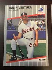 1989 Fleer Update Robin Ventura Chicago White Sox U-23