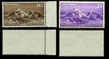1953 India - Conquest of Mount Everest MNH - SG# 244-245, SG# 3444-345