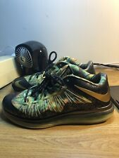 new concept c7c26 cfff7 Nike Air Lebron 10 X Low Championship Pack High Alternate Size 9.5 Yeezy 16  Glow