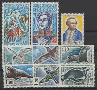 BV144015/ FRENCH ANTARTIC TERRITORIES / Y&T # 55 / 63 MINT  MNH – CV 137 $