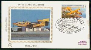 MayfairStamps Guernsey 1981 Inter Island Transport Trislander Airplane Aviation