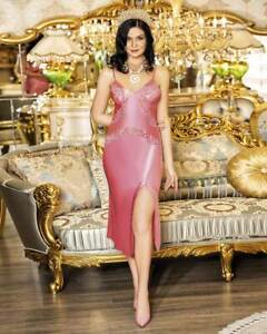 Women Satin and Lace Sexy Nightdress          European Products