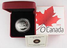 CANADA 2013 1/2 Oz 15.87 gram SILVER Polar Bear Uncirculated $10 Coin +BOX & COA