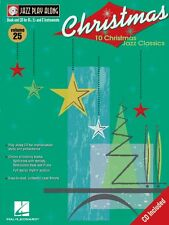 Christmas Jazz Jazz Play Along Volume 25 Jazz Play Along Book and Cd 000843018
