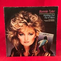 "BONNIE TYLER Holding Out For A Hero 1984 UK 7"" Vinyl Single EXCELLENT CONDITION"