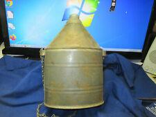 Post Civil War Workman  Miner's Canteen Water Bottle Excellent Shape