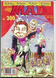 Deutsches MAD Nr.300 - TOP ORIGINAL WILLIAMS COMICHEFT Satire Alfred E.Neumann