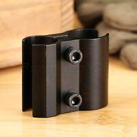 Compact Adjustable Dual Barrel Scope Mount Holder for Flashlight Laser Sight Gun