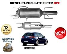 FOR FIAT CROMA 1.9D 2.4D MULTIJET 2004-> New DIESEL PARTICULATE FILTER DPF
