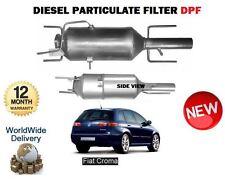 Pour FIAT CROMA 1.9 D 2.4 D multi jet 2004 - > nouveau filtre à particules diesel DPF