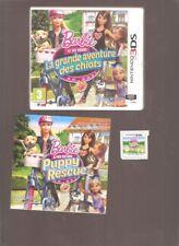 Rare !! BARBIE ET SES SOEURS La Grande Aventure des Chiots : Superbe sur 2DS/3DS