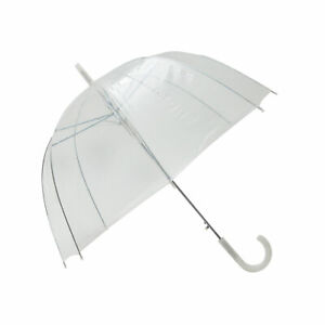 Parapluie transparent simple Finition blanc - Smati