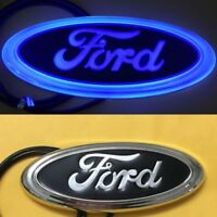 LED Car Tail Logo White Light Auto Badge Rear Emblem Lamp For Ford Fiesta Mondeo