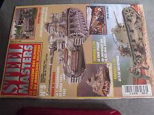 $$p Revue Steel Masters N°5 155 GPF  M49  M88  Panzerdivision Russie  Stuart
