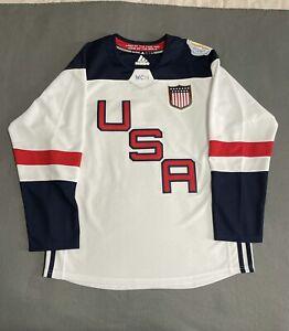 Adidas Premier World Cup Jersey United States Hockey Team USA White sz L