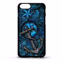 Anchor nautical ocean tattoo star graphic cover case for Iphone 5 6 6s 7 8 plus