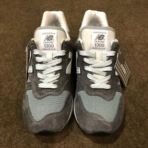 NEW BALANCE 1300 M1300CLS Blue/Gray Men's Size 8D Made in USA NEW WITH BOX