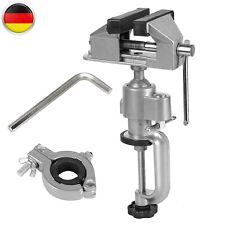 Präzisions Mini Schraubstock 50mm Drehbar 360° Schwenkbar 45°, Tischschraubstock