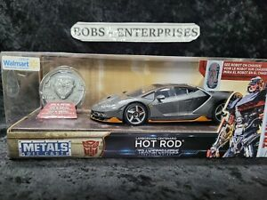 Transformers Hot Rod Metals Die Cast Walmart Exclusive Lamborghini Centenario x3