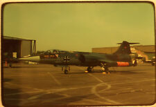 1 x Air craft Jet 24+07 Bundeswehr original Farb Dia Slide F-104G aus 1979 (20)