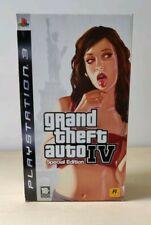 GTA IV 4  COLLECTOR'S EDITION PS3  ITALIANO PLAYSTATION 3 NO GAME ROCKSTAR RARO