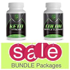 SALE Keto Diet Pills Keto xtreme Best Weight Loss Supplement Plus Colon Cleanse