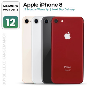Apple iPhone 8 64GB 128GB 256GB Unlocked Smartphone Gold/Grey/Silver/Red + Gifts